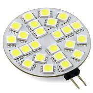 baratos Luzes LED de Dois Pinos-3W 260lm G4 Luminárias de LED  Duplo-Pin T 24 Contas LED SMD 5050 Branco Quente Branco Frio 12V
