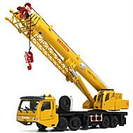 Auta na zadní natahování Autíčka Stavební stroj Jeřáb Hračky Kachna Věž Hračky Kov Pieces Unisex Dárek