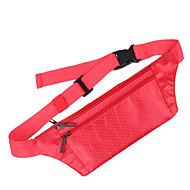 billige Rygsække og tasker-0.1 L Bæltetasker / Punge / Mobiltelefonetui - Vandtæt, Regn-sikker, Varmeisolering Udendørs Yoga, Campering & Vandring, Jagt Terylene, Vandtæt materiale Rød, Grå, Rosa