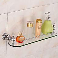סט של אביזרים לאמבטיה / כרום זכוכית