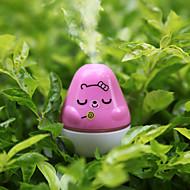 1 kpl DIY satunnainen väri aromaterapia ilman humidifieressential öljy hajotin fogger ultraääni aromisäiliötä sumu valmistaja kodinkone