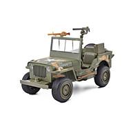 Auta na zadní natahování Vojenské auto Závodní auto Auto Unisex Hračky Dárek / Kov