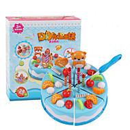 Szerepjátékok Játék konyha készletek Toy Foods Játékok Körkörös friut tettetés Fiú Lány Darabok