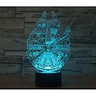 in duizend valk 3 d licht yakeli is stereo licht LED kleurrijke gradient sfeer lamp