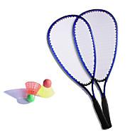 Badmintonschläger Federbälle Unverformbar Hochelastisch Dauerhaft Kohlefaser 1 Stück für Draußen Legere Sport
