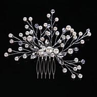 Cristal / Imitație de Perle / Ștras Îmbrăcăminte de păr cu 1 Nuntă / Ocazie specială / Casual Diadema