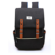 billige Computertasker-Unisex Tasker Polyester Nylon Laptoptaske for Shopping Afslappet Sport Formel Klatring Campering & Vandring Office & Karriere udendørs