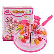 Doen alsof-spelletjes Toy Keuken Sets Toy Foods Speeltjes Cirkelvormig friut Simulatie Jongens Meisjes Stuks