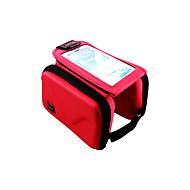 Mobilveske Vesker til sykkelramme 5.7 tommers Anvendelig Multifunksjonell Berøringsskjerm Sykling til Iphone 8 Plus / 7 Plus / 6S Plus /