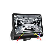 """C2 BLACK-W Fuld HD 1920 X 1080 170 grader Bil DVR JIELI 4"""" Dash Cam G-Sensor Parkeringsindstilling Bevægelsessensor Loop-optagelse WDR"""