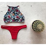 Dame Grime Bikini - Blomstret