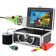 MOUNTAINONE 50M 1000tvl Underwater Fishing Video Camera Kit 6 PCS LED Lights with7 Inch Color Monitor