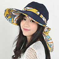 cheap Fashion Hats-Women's Street chic Sun Hat - Patchwork