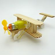 Kit Faça Você Mesmo Brinquedo Educativo Brinquedos de Ciência & Descoberta Brinquedos Aeronave kit de bateria Faça Você Mesmo Para