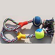 Hračky pro psy Hračky pro zvířata žvýkací hračky Pes Odolné Bavlna