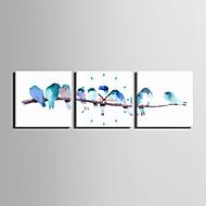 현대/현대 캐주얼 동물 기타 벽 시계,광장 캔버스 25 * 25 * 3 실내 시계