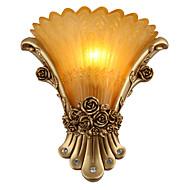 billige Vegglamper-Rustikk / Hytte / Traditionel / Klassisk / Moderne / Nutidig Vegglamper Harpiks Vegglampe 110-120V / 220-240V 40W