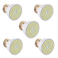 billige Spotlys med LED-YWXLIGHT® 5pcs 5W 400-500lm GU10 GU5.3(MR16) E26 / E27 LED-spotpærer 72 LED perler SMD 2835 Dekorativ Varm hvit Kjølig hvit Naturlig hvit