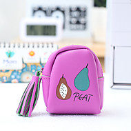 Fruit Pattern Change Purses PU Leather 1 PCS