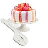 tanie Przybory do pieczenia-Narzędzia do pieczenia Plastikowy Ekologiczne / majsterkowanie Tort Narzędzie do dekorowania 1 szt.