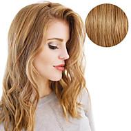 20stk bånd i hårforlengelser # 6 kastanjebrun 40g 16inch 20inch 100% menneskehår for kvinner