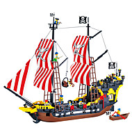 ENLIGHTEN Blocs de Construction Kit de Maquette Pirate Bateau Pirates Perle noire compatible Legoing Jouet Cadeau