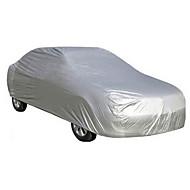 ราคาถูก ผ้าคลุมรถ-หุ้มแบบเต็ม ครอบคลุมรถยนต์ PEVA กันรอยขีดข่วน / ทนรังสียูวี / กันน้ำ For Universal ทุกรูปแบบ ทุกปี For ทุกฤดู