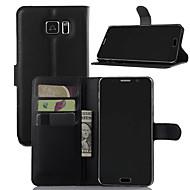 Case Kompatibilitás Samsung Galaxy J7 Prime J5 Prime Pénztárca Kártyatartó Ütésálló Állvánnyal Teljes védelem Tömör szín Kemény Műbőr Bőr