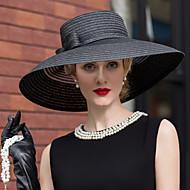 تول / السلال كنتاكي ديربي هات / قبعات / أغطية الرأس مع ورد 1PC زفاف / مناسبة خاصة / فضفاض خوذة