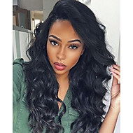 cheap Wigs & Hair Pieces-Premier®Body Wave Full Lace Human Hair Wigs-Glueless 130% Density 100% Unprocessed Brazilian Virgin Remy Full Lace Wigs with Baby Hair For Woman