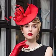 Χαμηλού Κόστους -Φτερό Ύφασμα Γοητευτικά Καπέλα 1 Γάμου Ειδική Περίσταση Causal Headpiece