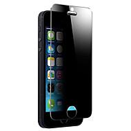 מסך פרטיות נגד מרגל מזג זכוכית ברורה רזה אנטי שריטות הקשוח הקשוח מציץ סרט קרום עבור iPhone SE 5s 5