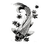 1 pcs Tatoveringsklistermærker Midlertidige Tatoveringer Dyre Serier Vandtæt / Ikke Giftig Kropskunst arm