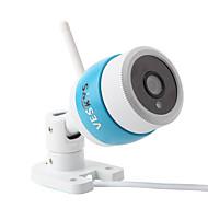 veskys® 1080p vanntett trådløs utendørs sikkerhetskule ip kameraaluminiumlegering 2.0mp wi-fi ip-sikkerhetskamera