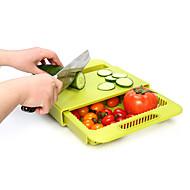 cheap -Kitchen Tools Plastic Creative Kitchen Gadget Cutting Board Cooking Utensils 1pc