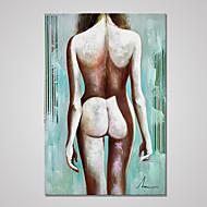 Afdrukken Op Opgespannen Doek Naakt Europese Stijl,Eén paneel Canvas Verticaal Print Art Muurdecoratie For Huisdecoratie