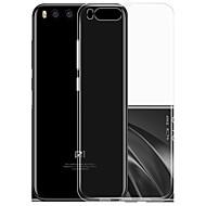 billiga Mobil cases & Skärmskydd-fodral Till Xiaomi Ultratunt Genomskinlig Skal Ensfärgat Mjukt TPU för Xiaomi Mi 6
