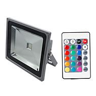 Hkv® 1pcs 50w 4500-5000 lm rgb festoon rezistent la apa condus de iluminat integrat led ac85-265 v