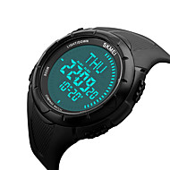 tanie Inteligentne zegarki-Inteligentny zegarek Wodoszczelny Długi czas czuwania Wielofunkcyjne Kompas Sportowy Czasomierz Stoper Budzik Chronograf Kalendarz IR Nie