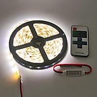 ZZZZM rezistent la apa 5m 600x3528 smd led lumina strip și controler 11key rf
