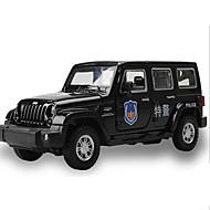 Spielzeug-Autos Spielzeuge Baustellenfahrzeuge Polizeiauto Rettungswagen Quadratisch Metalllegierung Geschenk Action & Spielzeugfiguren