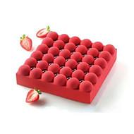 billige Bakeredskap-Bakeware verktøy Silikon Non-Stick / 3D / Jul Kake / Sjokolade Bakeform 1pc