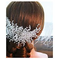 Kristalli Hiusten kaltaiset kanssa 1 Häät / Erikoistilaisuus / ulko- Päähine