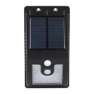 baratos Focos-1 W Focos de LED Impermeável / Sensor / Sensor infravermelho Branco Natural Iluminação Externa 10 Contas LED
