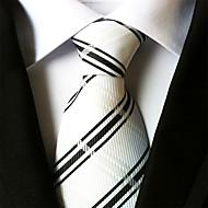 עניבת צווארון - פסים מסיבה / עבודה / בסיסי בגדי ריקוד גברים