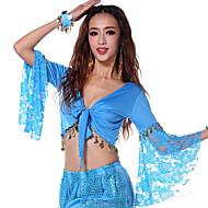 Χορός της κοιλιάς Μπλούζες Γυναικεία Επίδοση Βαμβάκι Μακρυμάνικο Κορυφή