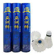 billiga Badminton-Äkta fjäderboll 12st Duck Feather Slitsäker / Stabilitet / Hållbar Badminton