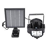 baratos Focos-5 W Luzes Solares LED Impermeável / Recarregável / Instalação Fácil Vermelho / Verde 5 V Iluminação Externa 2 Contas LED