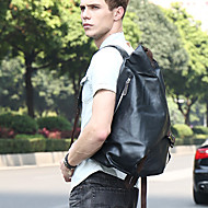 Men Bags All Seasons PU Backpack for Shopping Casual Sports Formal Office & Career Blue Black