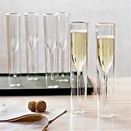 Transparent Minimalismus Party Bar Trinkbecher, 115 ml Boyfriend Geschenk Freundin Geschenk Glas Bier Saft Glas
